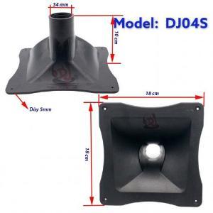 Họng loa kèn nhựa  02 cái họng loa nhựa 18x18, hong loa trep, hong loa treble array, hong loa trep 750, phểu loa kèn