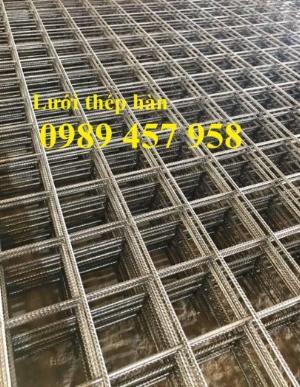 Báo giá Lưới thép hàn sàn bê tông phi 6 200x200 và phi 10 200x200 có sẵn