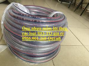 Ống nhựa lõi thép phi 34, ống nhựa xoắn kẽm phi 34 dày 3mm , cuộn dài 50m , giá rẻ