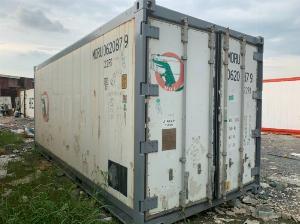 Container lạnh 20feet bảo quản thịt đông lạnh
