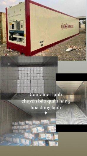 Container lạnh thanh lý làm kho lạnh tủ đông