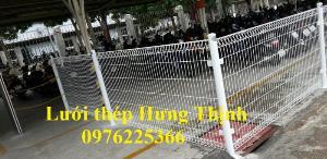 Hàng rào lưới thép phi 5 mắt 50x200, 50x150, 75x200