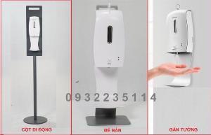 Máy rửa tay tự động, máy xịt sát khuẩn tự động