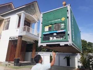 Container lạnh 20feet chứa nông sản