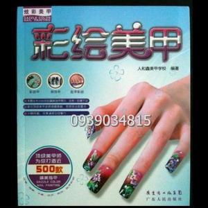 Sách hướng dẫn vẽ móng tay, chân - Mã số 1098