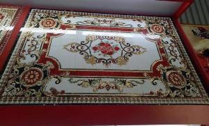 Thảm gạch 3D lát sàn- gạch thảm trang trí phòng khách