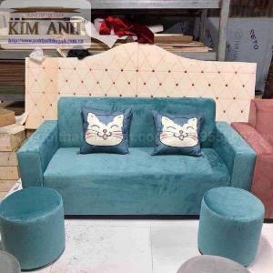 Có nên chọn mua sofa vải nhung cho phòng khách hay không ?