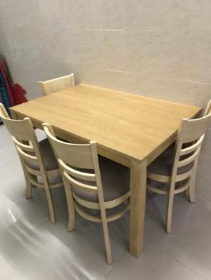 Bộ bàn ghế ăn cabin 4 ghế giá rẻ tphcm