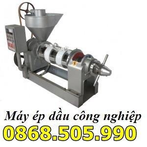 Máy ép dầu công nghiệp,máy ép dầu công suất 100kg/h.