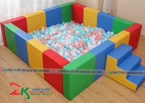 Nhà banh trẻ banh,hồ chơi nhà banh cho bé