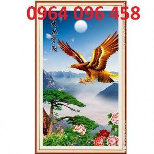 Tranh gạch 3d chim đại bàng - VC2