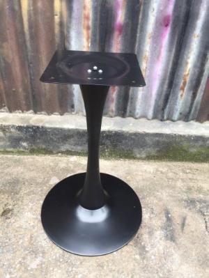 Chân bàn cafe sắt tulip nhập khẩu màu đen