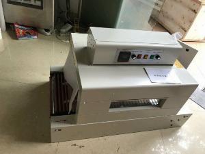 Máy rút màng co Pvc, máy màng co hộp trà thuốc/dược phẩm