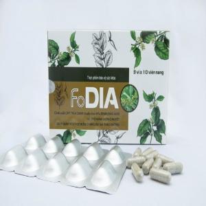 Dây thìa canh - Viên uống hỗ trợ ổn định đường huyết - FoDIA - Hộp 30 viên.