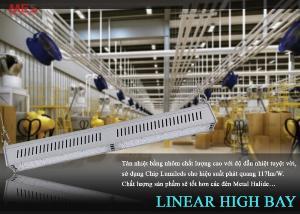 Đèn led nhà xưởng highbay Linear 150w siêu tiết kiệm điện