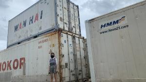 Container lạnh 40feet SINOKOR tại TP HCM