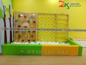 Nhà banh thang leo dành cho trẻ em