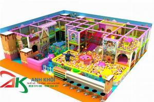Chuyên thi công lắp đặt khu vui chơi trẻ em trong nhà mới nhất