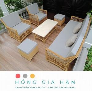 Sofa mây nhựa Hồng Gia Hân SF15