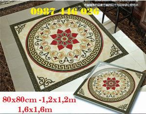 Thảm gạch vuông trang trí lát sàn nhà HP6990