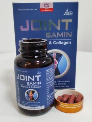 Viên uống hỗ trợ làm trơn ổ khớp, giảm đau xương khớp - JOINT SAMIN - Hũ/ 50 viên