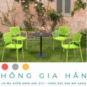Bàn ghế sân vườn Hồng Gia Hân BGN02