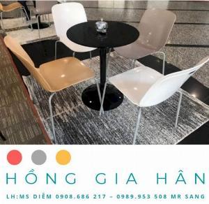 Bàn ghế văn phòng Hồng Gia Hân BGN05