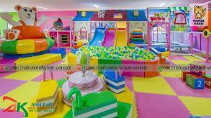 Công ty chuyên thi công lắp đặt khu vui chơi trẻ em trong nhà