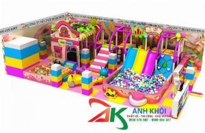 Khu vui chơi trẻ em giá rẻ nhất thị trường
