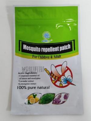 Miếng dán đuổi muỗi chiết xuất tinh dầu thiên nhiên- KANGDY- 6 miếng/ gói.