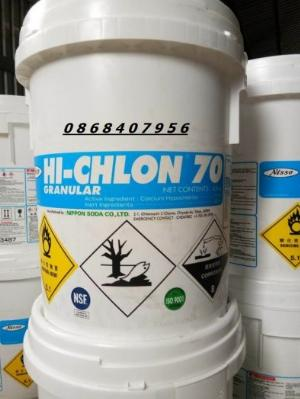Hoá chất diệt khuẩn Chlorine Hi-Chlon 70
