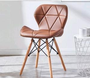 Ghế da tam giác màu cafe giá rẻ