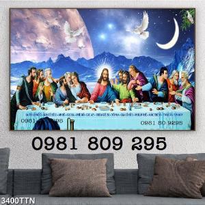 Tranh bữa tiệc ly - gạch tranh 3d công giáo