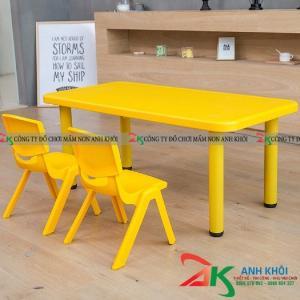 Bộ bàn 2 ghế ngồi trẻ em