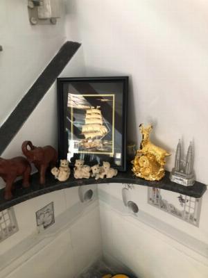 Tranh thuyền buồm mạ vàng 24k,Quà tặng phong thủy cao cấp