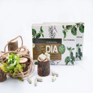 Fodia - Viên uống giảm, ổn định đường huyết và ngăn ngừa biến chứng tiểu đường