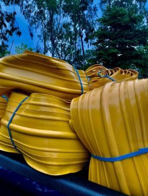 Cuộn nhựa pvc O200-20m kho hải dương