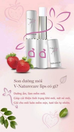 Son dưỡng môi từ thiên nhiên V-Natucare lips