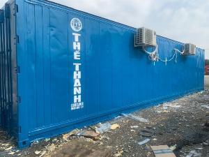 Container lạnh sử dụng điện 1 pha làm kho mát