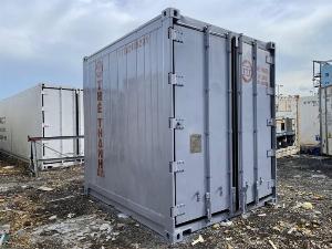 Container lạnh bảo quản thị cá hàng đông lạnh