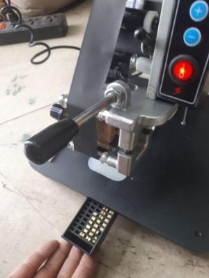 Máy in ngày tháng hạn dùng tự động, máy indate HP 241B