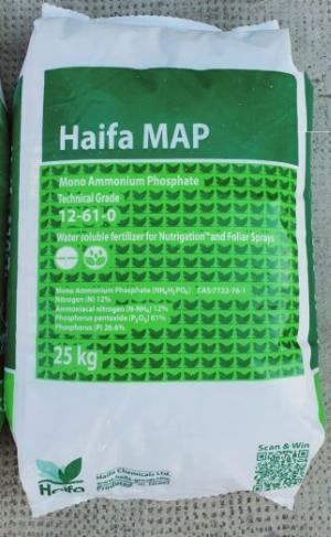Mono ammonium phosphate (Phân bón MAP) – Haifa/Israel