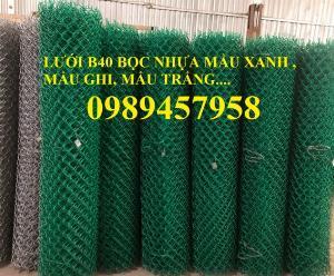 Sản xuất Lưới b40 bọc nhựa, Lưới làm sân bóng tennis