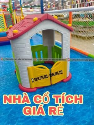 Nhà cổ tích cho trẻ giá rẻ