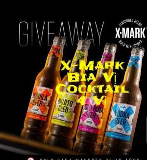Xmark Bia Vị Cocktail Nhập Khẩu Halan
