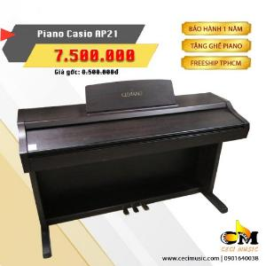 Piano Casio AP21 thiết kế tinh xảo