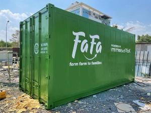 Container lạnh bảo quản thịt heo hàng cấp đông