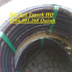 Phân phối dây hơi Toyork phi 8mm , cuộn dài 100m , dây hơi Hàn Quốc chịu áp lực cao