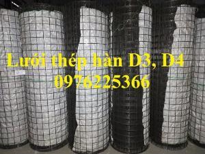 Lưới thép hàn phi 4 a 200x200, a 150x150, a 100x100 có sẵn dạng cuộn