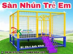 Cung cấp sàn nhún khu vui chơi trẻ em